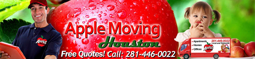 #1 Houston Movers - Apple Moving Houston